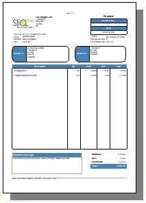 Invoice Templates Supported Within SliQ Invoicing And Quoting - Invoice templates